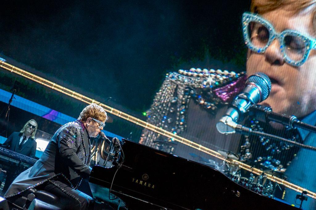Elton John na koncercie w Krakowie