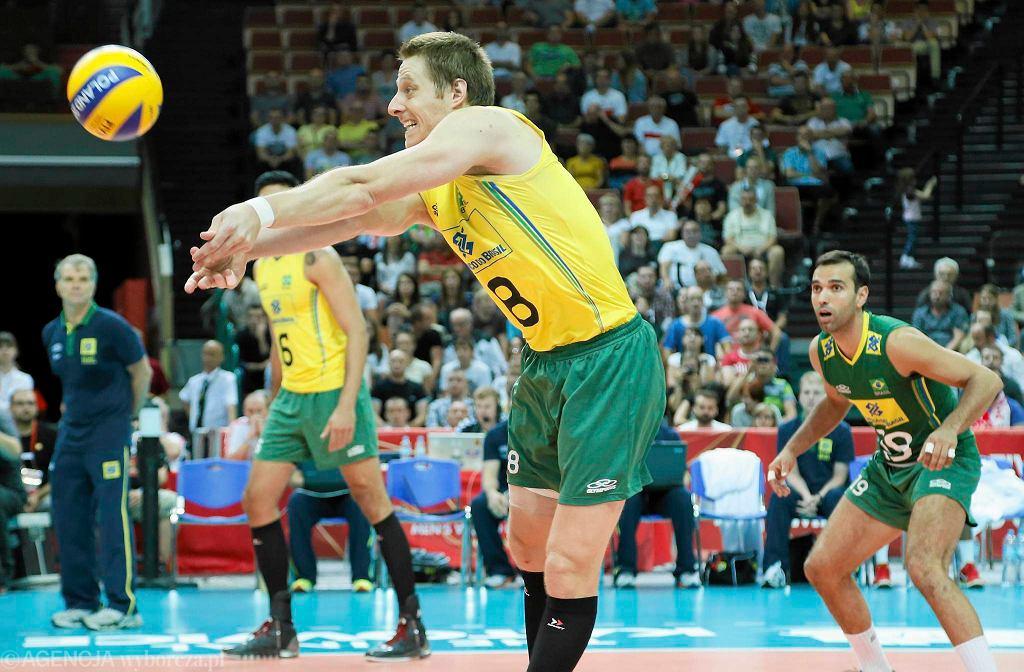 Murilo w meczu Brazylia - Bułgaria