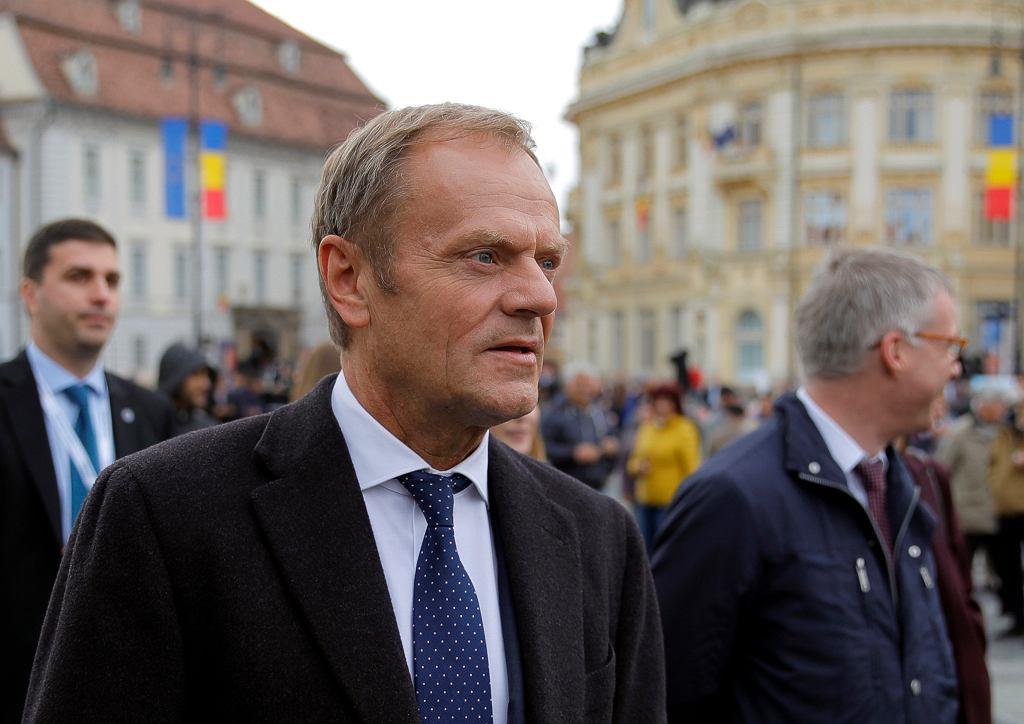 Donald Tusk na szczycie UE w Ruminii