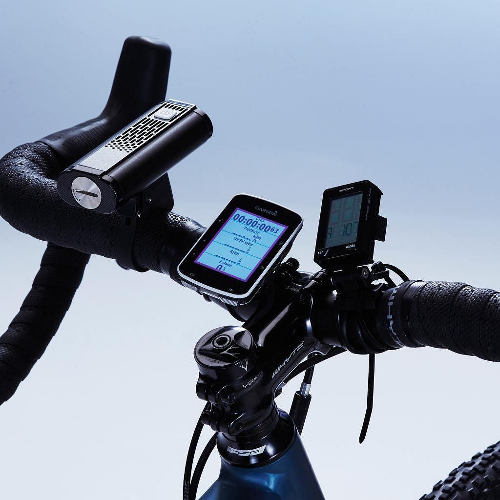 Mactronic Riffle 1400, Garmin Edge 520 i Specialized Speedzone Sport Wireless