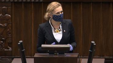 Barbara Nowacka w Sejmie