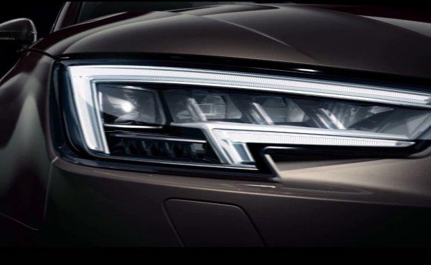 LED-owe światła Matrix w nowym Audi A4