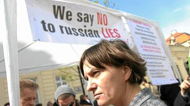 Szefowa Solidarnych 2010 Ewa Stankiewicz