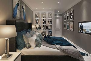 Aranżacja sypialni - poduszki, narzuty i lampy