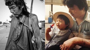 Ojciec Diany Kim krótko po tym, jak został znaleziony przez córkę oraz fotografia z jej dzieciństwa