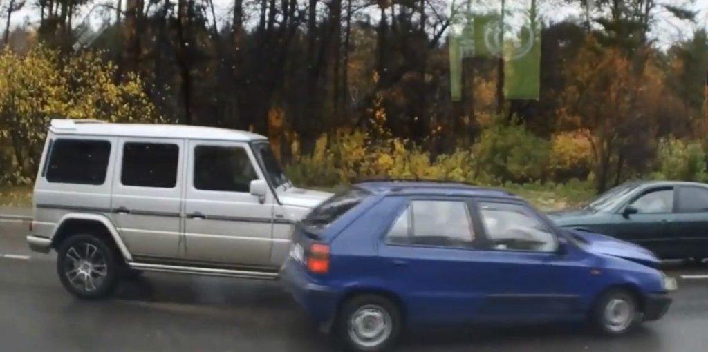 Wypadki z udziałem Mercedesa klasy G