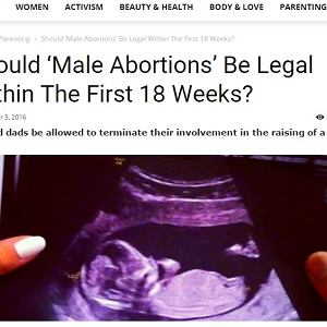 Szwedzi chcą iść krok dalej. Czas na prawo do aborcji dla mężczyzn