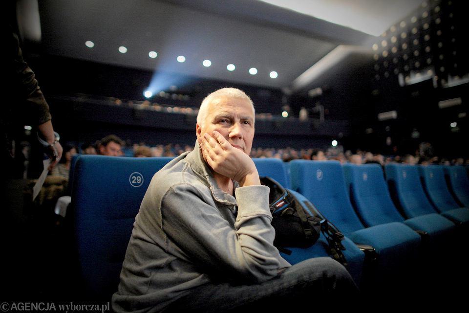 Krzysztof Krauze podczas pokazu filmu 'Papusza'', Łódź, 18. Forum Kina Europejskiego, 2013 r.
