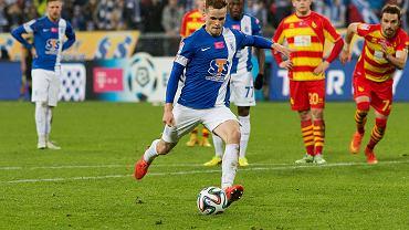 Lech Poznań - Jagiellonia Białystok 2:0. Tomasz Kędziora