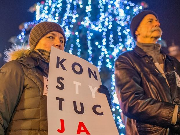 Bydgoszcz. Protest w obronie wolnych sądów