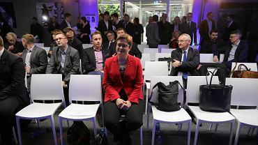 16.12.2017, Warszawa, Rada Krajowa Nowoczesnej. Na zdjęciu przewodnicząca partii Katarzyna Lubnauer.