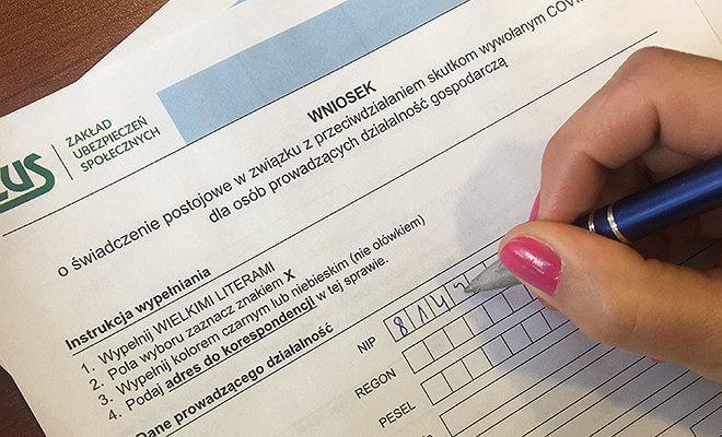 Wniosek do ZUS o wypłatę 'postojowego'