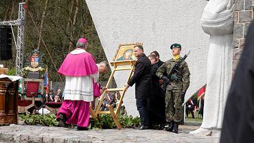 Andrzej Duda na Siekierkowskim Cmentarzu Wojennym