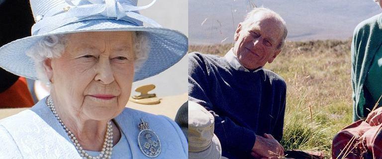 Królowa Elżbieta żegna księcia Filipa na kilka godzin przed pogrzebem