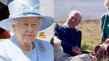 """Królowa Elżbieta II żegna księcia Filipa na kilka godzin przed pogrzebem. """"Chciała podzielić się prywatnym zdjęciem"""""""