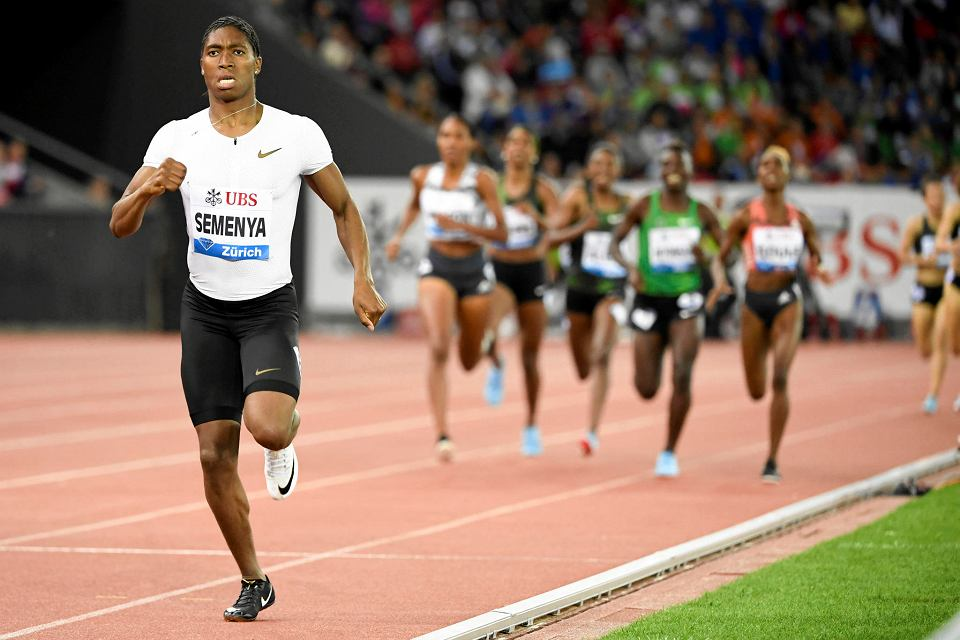 Caster Semenya nie przegrała od czterech lat
