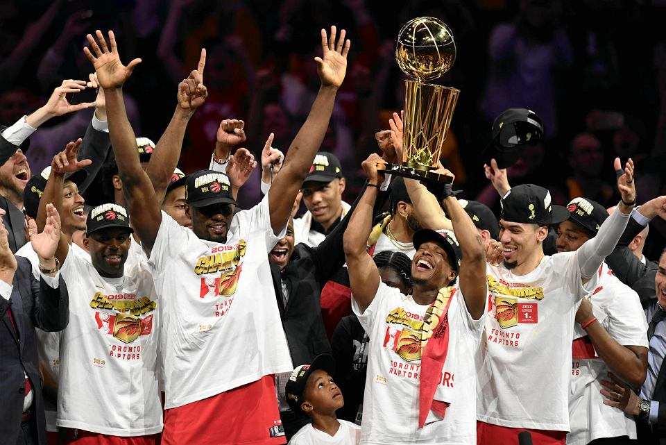 Toronto Raptors zostali mistrzami NBA