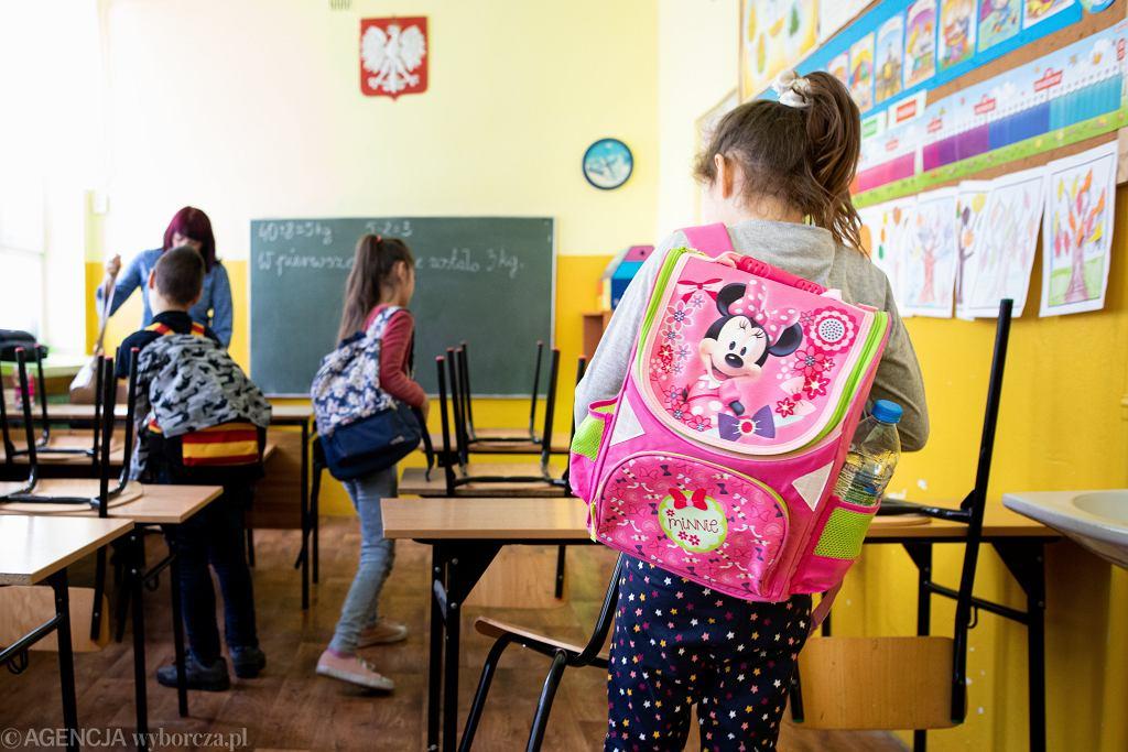 Kiedy uczniowie wrócą do szkół? Rzymkowski komentuje