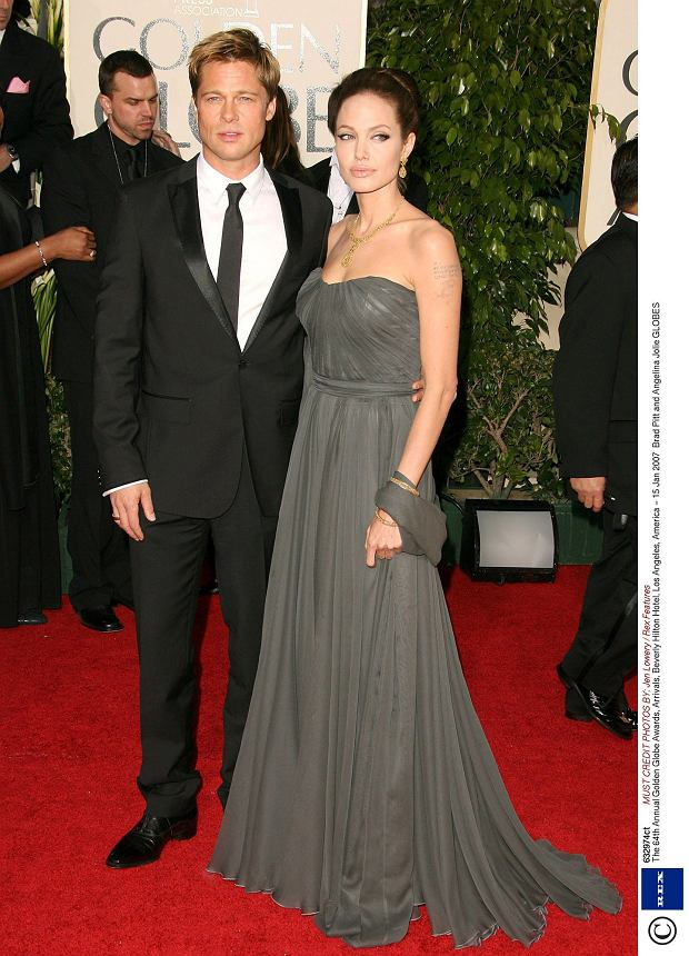 Brad Pitt and Angelina Jolie The 64th Annual Golden Globe Awards, 2007