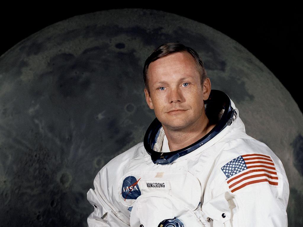 Neil Armstrong 21 lipca 1969 r. jako pierwszy człowiek, stanął na Księżycu (fot. Wikimedia.org / Domena publiczna)