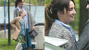 Dominika Kulczyk była gościem w programie 'DD TVN'. Towarzyszyła jej córka. Kiedy opuściły budynek stacji, spotkały się z byłym partnerem Edyty Górniak. Popatrzcie tylko na czułości przy powitaniu.