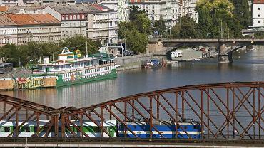 Czechy Praga. Pociąg do Pragi