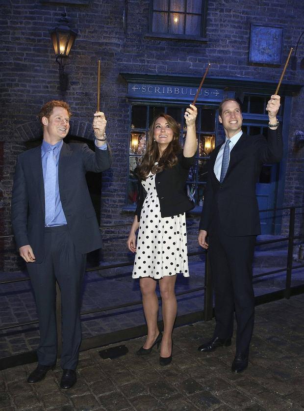 Książe Harry, Kate Middleton, Książe William