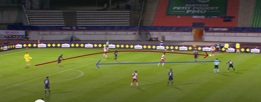 Błąd Majeckiego w półfinale Pucharu Francji