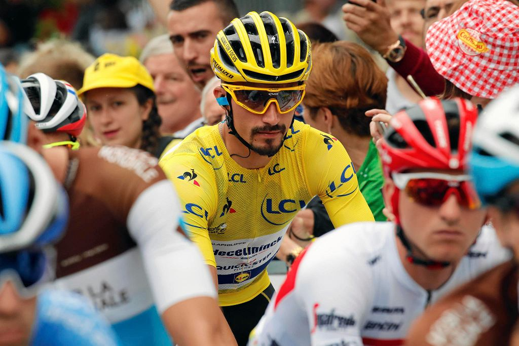 Julian Alaphilippe, lider Tour de France