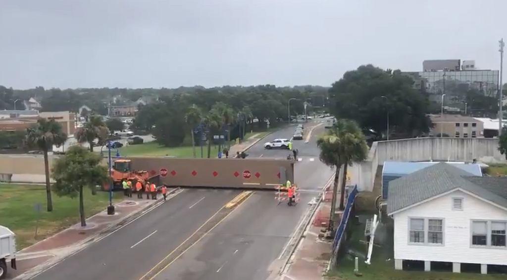 Brama przeciwpowodziowa w Nowym Orleanie