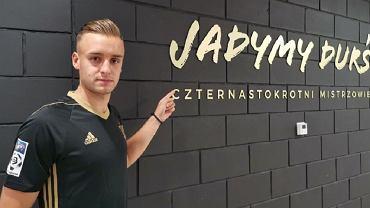 David Kopacz piłkarzem Górnika Zabrze