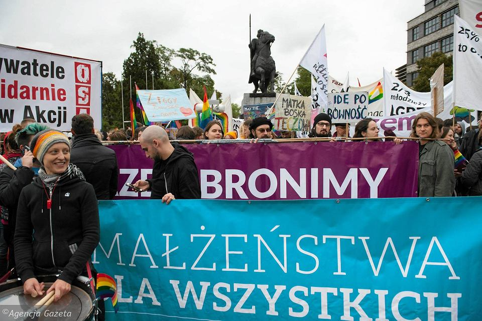 8. Marsz Równości we Wrocławiu