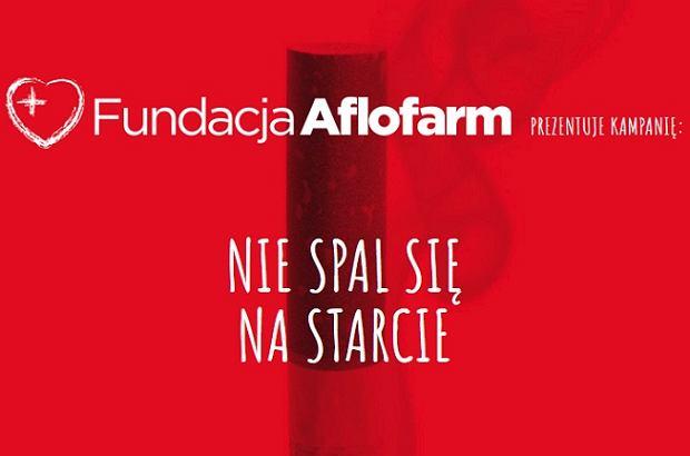 Nie Spal Się Na Starcie Kampania Społeczna Fundacji Aflofarm