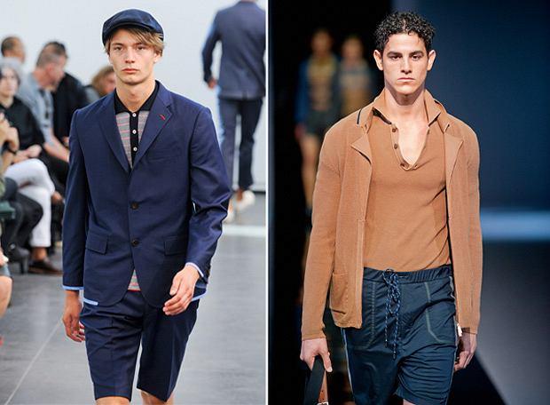 koszulki, moda męska, Koszulki: to się nosi tej wiosny!, Z kolekcji Watanabe i Emporio Armani