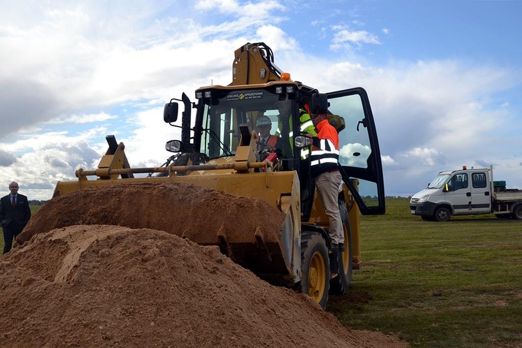 Ruszyła budowa lotniska w Suwałkach