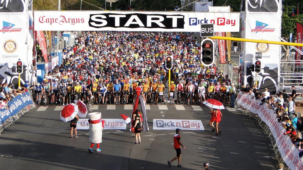 Maraton rowerowy w Kapsztadzie