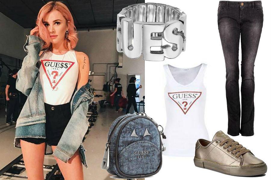 modne ubrania marki Guess
