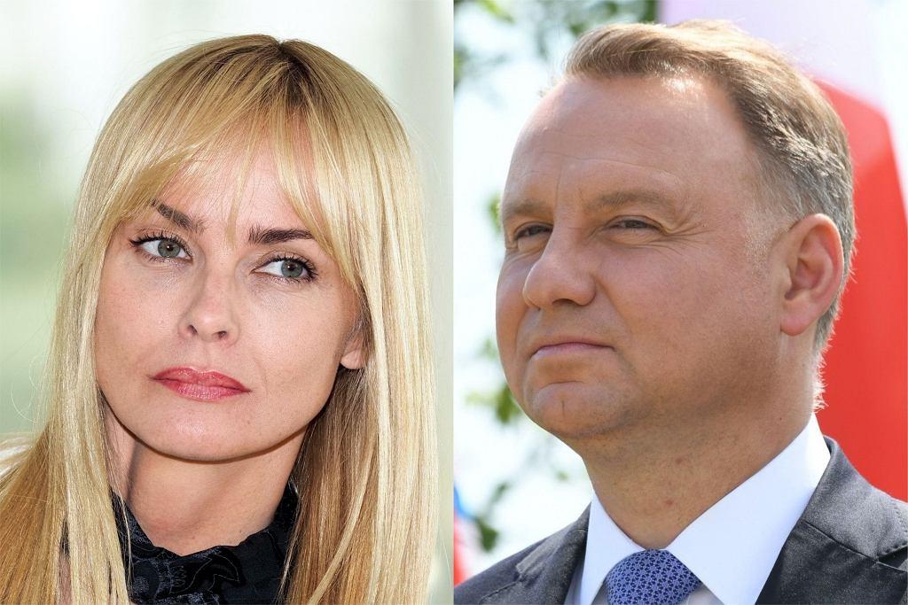 Izabella Scorupco, Andrzej Duda