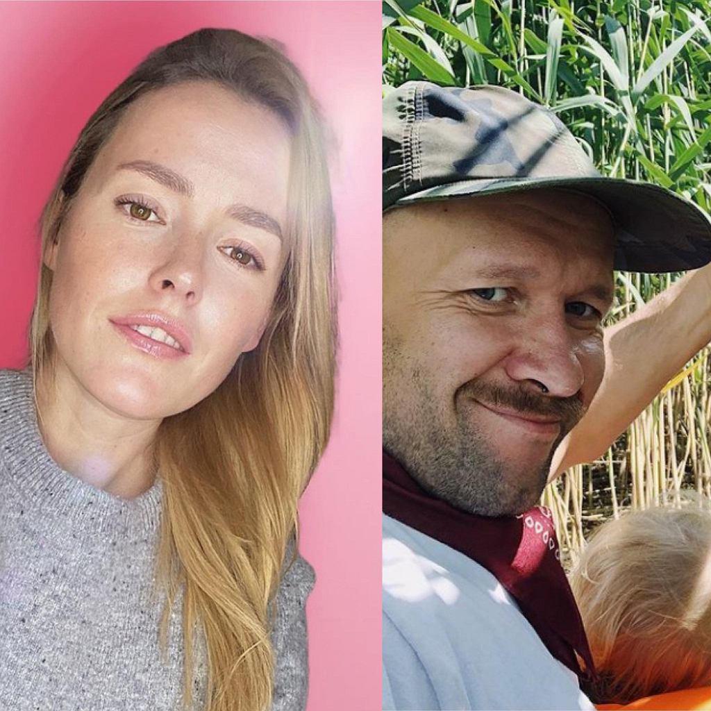 Były partner Olgi Frycz skomentował jej ciążę. 'Jesteś bardzo dzielna'. Aktorka odpowiedziała mu