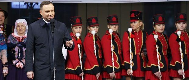 Prezydent Andrzej Duda w Starym Sączu