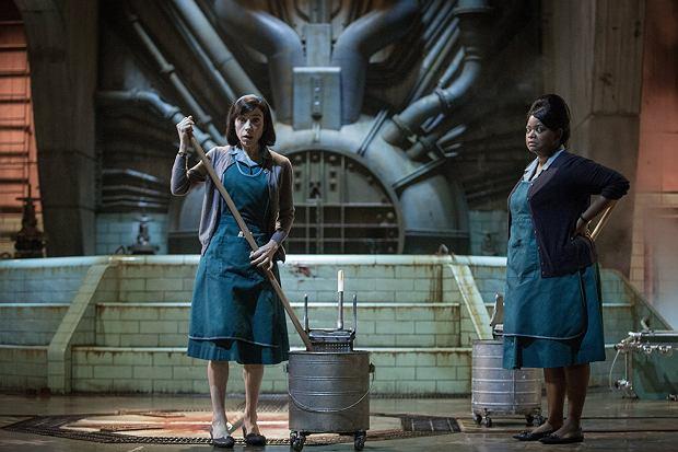 Sally Hawkins i Octavia Spencer, 'Kształt wody', reż. Guillermo del Toro