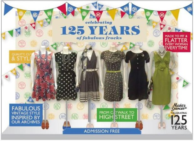 125 rocznica Marks&Spencer