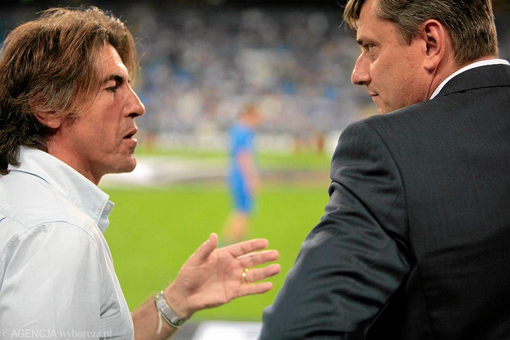 Lech Poznań - Belenenses 0:0. Trenerzy Ricardo Sa Pinto i Maciej Skorża