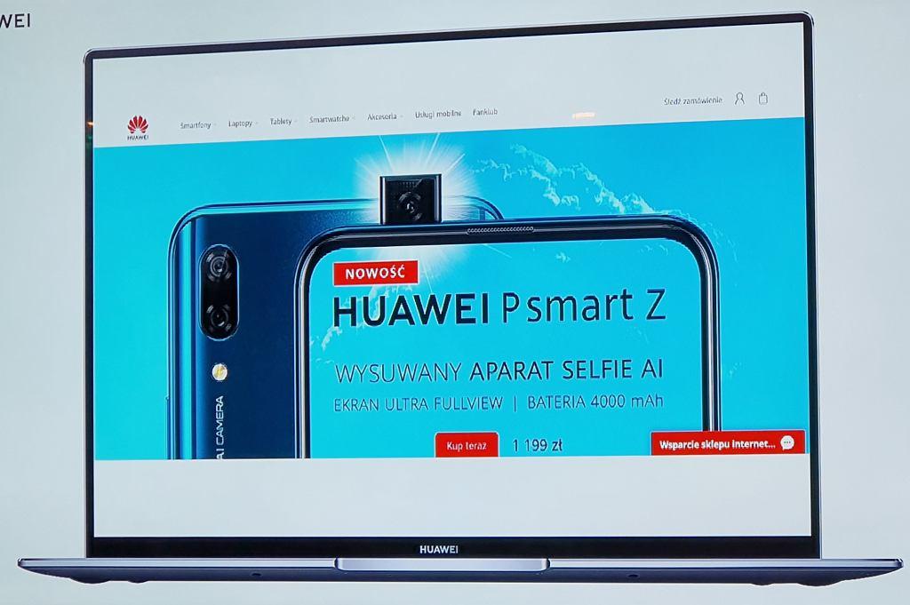 Huawei otwiera sklep internetowy w Polsce
