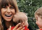 """Anna Lewandowska z córkami kibicują Robertowi Lewandowskiemu. """"Wy się o chłopca postarajcie..."""""""
