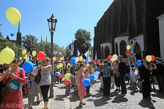 Wrocław 2012. Marsz dla życia i rodziny