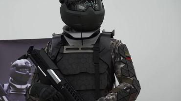 Rosyjski egzoszkielet wojskowy