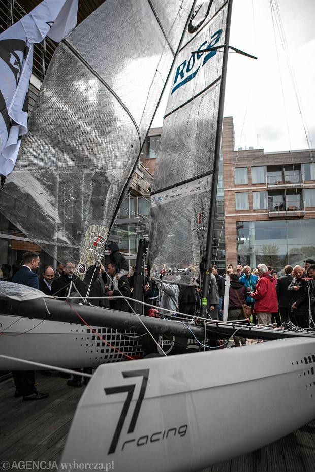 Team żeglarski 77racing zainaugurował sezon z nową jednostką [ZDJĘCIA]
