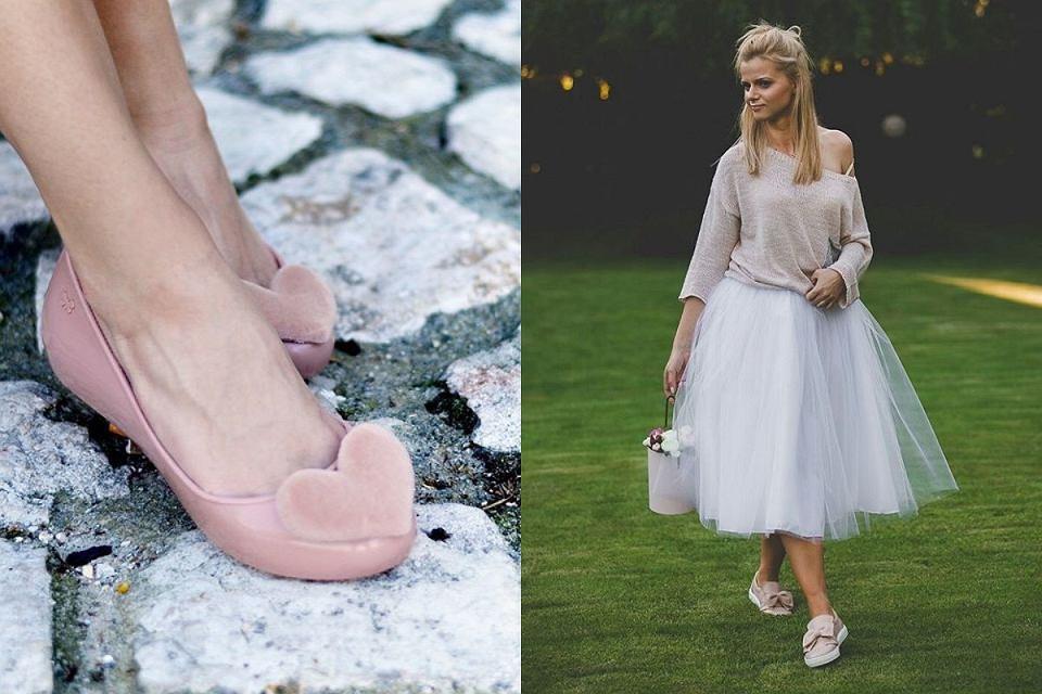 Płaskie buty na wesele