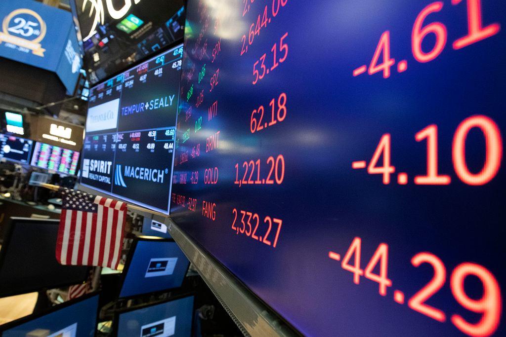 We wtorek kolejny dzień przeceny na Wall Street